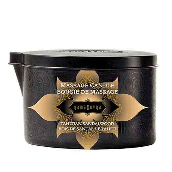 Kama Sutra Massage Oil Candle (Tahitian Sandalwood)