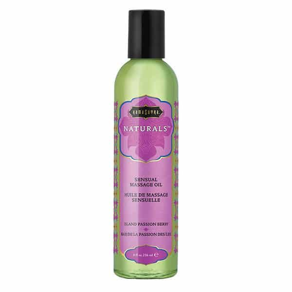 Kama Sutra Naturals Massage Oil (Island Passion Berry)