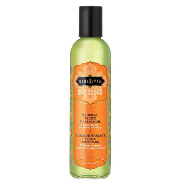 Kama Sutra Naturals Massage Oil (Tropical Fruits)