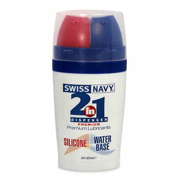 Swiss Navy 2 in 1 Premium Personal Lubricant