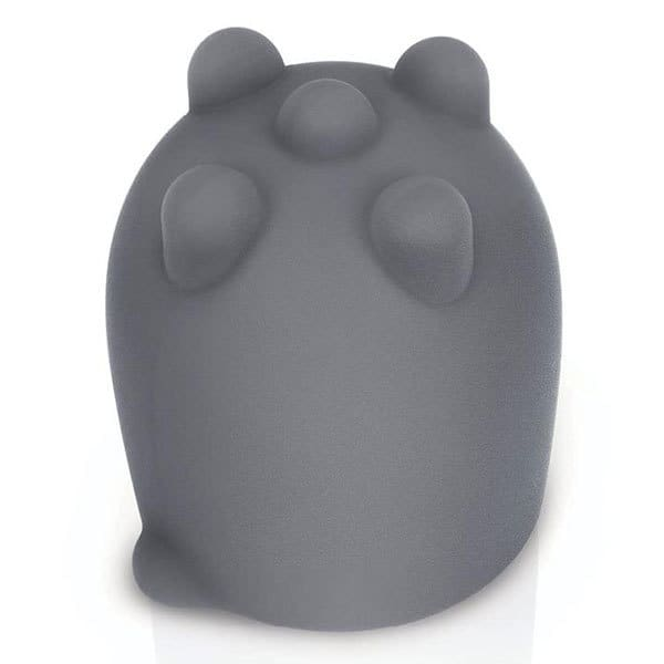 Le Wand Shiatsu Deep Tissue Attachment (Grey) Top View